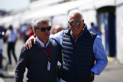 Carlos Sainz Sr and Lawrence Stroll