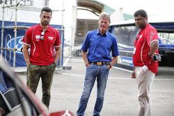 Malcolm Wilson, M-Sport, Gaurav Gill, Team MRF Tyres Ford Fiesta R5