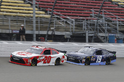 Christopher Bell, Joe Gibbs Racing, Toyota Camry Rheem and Brandon Jones, Joe Gibbs Racing, Toyota C