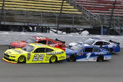 Paul Menard, Team Penske, Ford Mustang Menards/Richmond, Kyle Busch, Joe Gibbs Racing, Toyota Camry