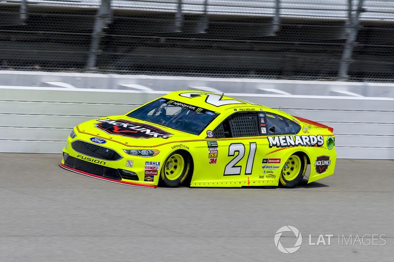 15. Paul Menard, Wood Brothers Racing, Ford Fusion Menards / Jack Links