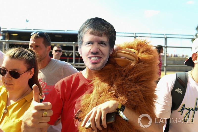 Un fan de Vettel