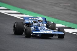 Tyrrell 005 en el desfile del 70º aniversario de Silverstone