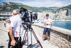 Sean Gelael, PREMA Racing, is interviewed by FOM TV