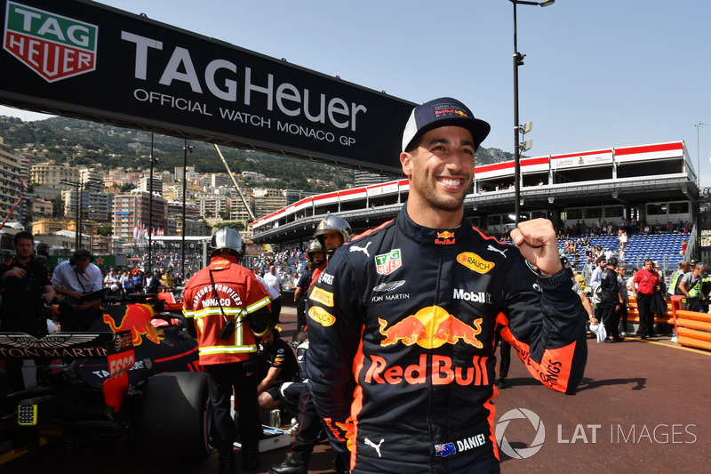 No GP de Mônaco, Daniel Ricciardo desbancou os favoritos e cravou a pole