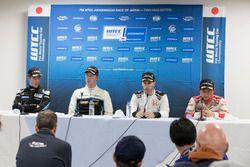Press Conference: Kris Richard, Campos Racing, Chevrolet RML Cruze TC1, Thed Björk, Polestar Cyan Ra