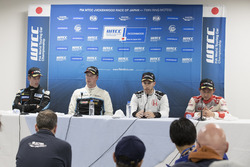Press Conference: Kris Richard, Campos Racing, Chevrolet RML Cruze TC1, Thed Björk, Polestar Cyan Ra