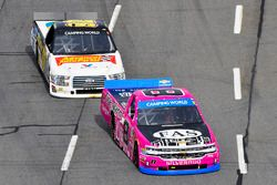 John Hunter Nemechek, SWM-NEMCO Motorsports Chevrolet, Regan Smith, Ricky Benton Racing Ford