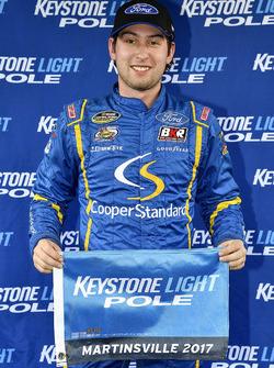 Chase Briscoe, Brad Keselowski Racing Ford wins the pole