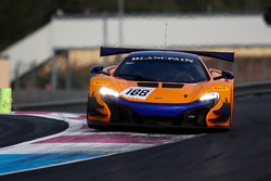 #188 Garage 59, McLaren 650 S GT3: Alex West, Chris Goodwin, Chris Harris