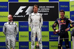 Podium: 1. Jenson Button, Brawn; 2. Rubens Barrichello, Brawn; 3. Mark Webber, Red Bull