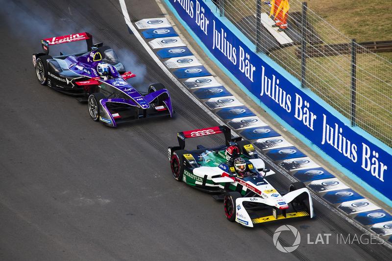 Даниэль Абт, Audi Sport ABT Schaeffler, и Сэм Бёрд, DS Virgin Racing