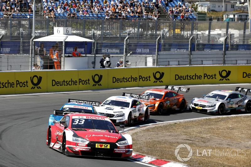 1. René Rast, Audi Sport Team Rosberg, Audi RS 5 DTM leads
