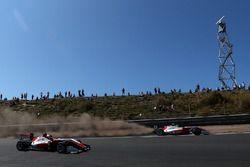 Mick Schumacher, PREMA Theodore Racing Dallara F317 - Mercedes-Benz, passa sulla ghiaia