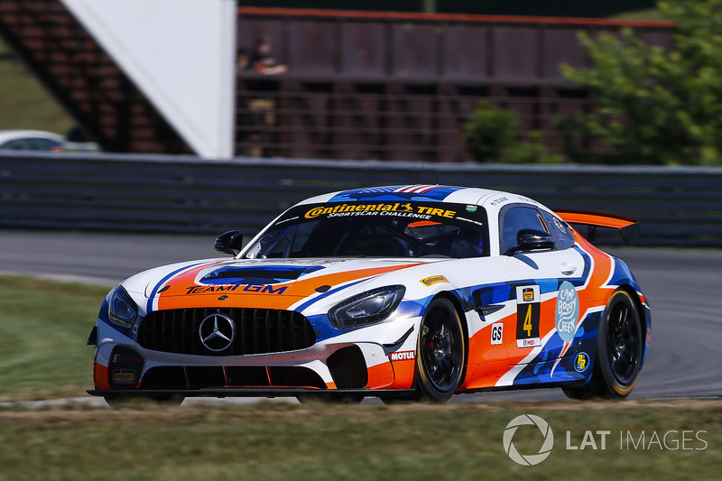 #4 Team TGM, Mercedes-AMG, GS: Ted Giovanis, Guy Cosmo