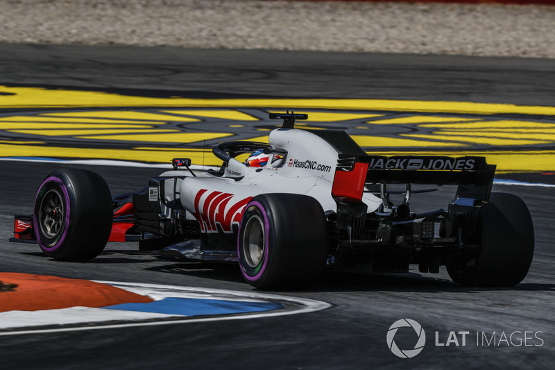 6. Romain Grosjean, Haas F1 Team VF-18