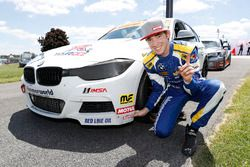 Motul Pole award winner #81 BimmerWorld Racing, BMW 328i, ST: Devin Jones