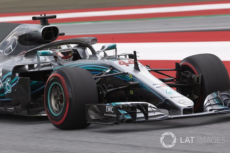 Ausfall: Lewis Hamilton, Mercedes AMG F1 W09