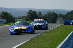 #75 SunEnergy1 Racing Mercedes AMG GT3, GTD: Kenny Habul, Thomas Jäger, Mikael Grenier, #71 P1 Motorsports Mercedes-AMG GT3, GTD: Juan Perez, Loris Spinelli, Adam Christodoulou