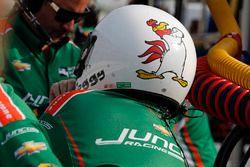 Le mécanicien David Foggy Fitzgerald, Kyle Kaiser, Juncos Racing Chevrolet
