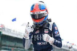 Race winner Colton Herta, Andretti Steinbrenner Racing