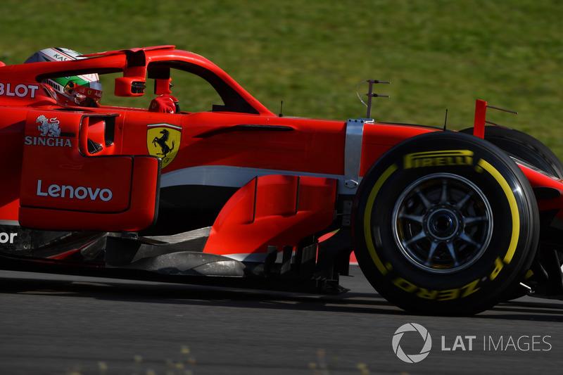 Antonio Giovinazzi, Ferrari SF71H aero sensörü