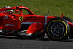 Antonio Giovinazzi, Ferrari SF71H with aero sensors