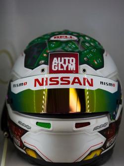 Шлем гонщика Nissan Motorsport Майкла Карузо