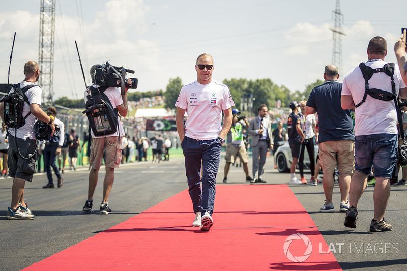 Valtteri Bottas, Mercedes-AMG F1 en el drivers parade