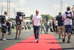Valtteri Bottas, Mercedes-AMG F1 on the drivers parade