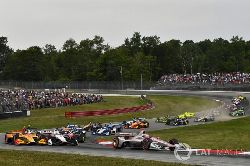 Will Power, Team Penske Chevrolet, au départ