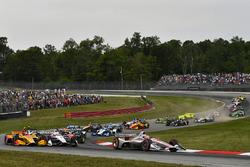 Will Power, Team Penske Chevrolet, start