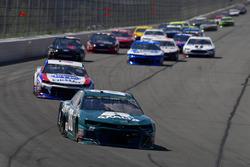 Alex Bowman, Hendrick Motorsports, Chevrolet Camaro AXALTA All-Pro Teachers, A.J. Allmendinger, JTG Daugherty Racing, Chevrolet Camaro Kroger ClickList
