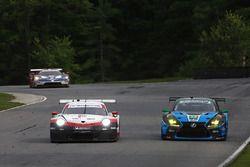 #911 Porsche Team North America Porsche 911 RSR, GTLM: Patrick Pilet, Nick Tandy #14 3GT Racing Lexus RCF GT3, GTD: Dominik Baumann, Kyle Marcelli