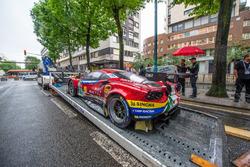 Автомобиль Ferrari 488 GTE Evo (№71) команды AF Corse