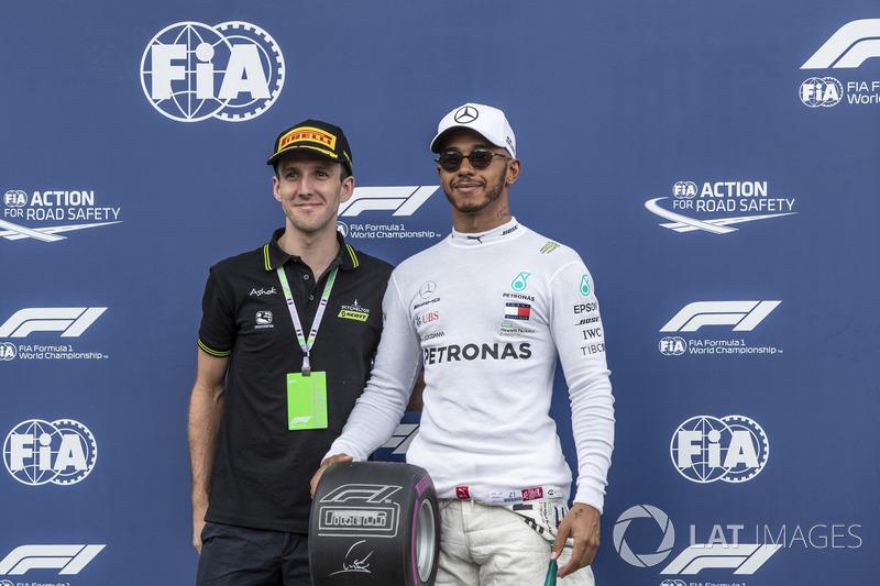 Lewis Hamilton, Mercedes-AMG F1, Pole pozisyonu ödl, Simon Yates