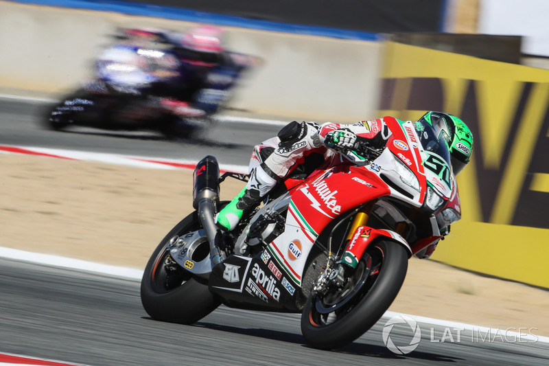 4e : Eugene Laverty, Milwaukee Aprilia