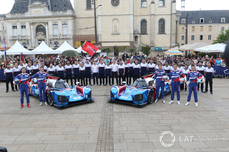 #11 SMP Racing BR Engineering BR1: Mikhail Aleshin, Vitaly Petrov, Jenson Button, #17 SMP Racing BR Engineering BR1: Stéphane Sarrazin, Egor Orudzhev, Matevos Isaakyan