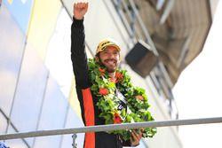 LMP2 podium: winner Jean-Eric Vergne, G-Drive Racing
