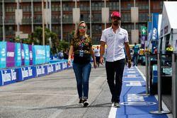 Lucas di Grassi, Audi Sport ABT Schaeffler avec sa femme
