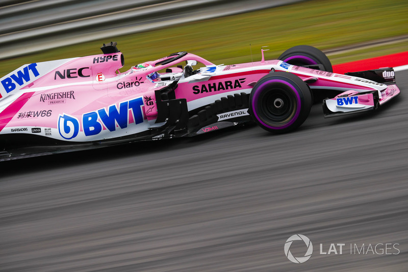 8. Sergio Perez, Force India VJM11