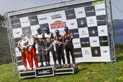 Podyum: Yarış galibi Sébastien Ogier, Julien Ingrassia, M-Sport Ford WRT Ford Fiesta WRC, 2. Ott Tän