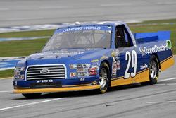 Chase Briscoe, Brad Keselowski Racing Ford camino a pit