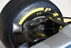 Mercedes-Benz F1 W08 front brake duct detail