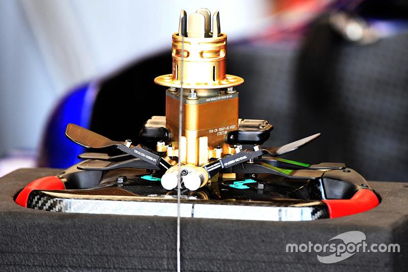 Scuderia Toro Rosso STR12 steering wheel