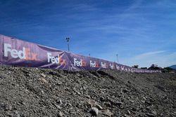 FedEx signage, Denny Hamlin, Joe Gibbs Racing Toyota