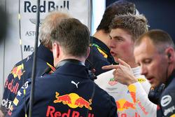 Dr Helmut Marko, Red Bull Motorsport Consultant and Max Verstappen, Red Bull Racing