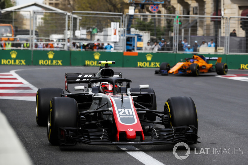 13. Kevin Magnussen, Haas F1 Team VF-18 Ferrari