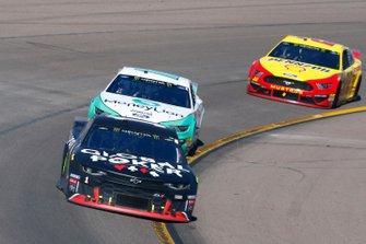 Kurt Busch, Chip Ganassi Racing, Chevrolet Camaro Global Poker and Ryan Blaney, Team Penske, Ford Mustang MoneyLion