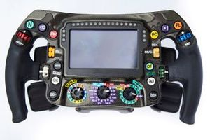 Mercedes AMG F1 W09 steering wheel